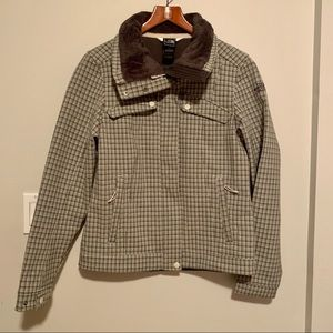 NWOT The North Face Plaid Checkered Jacket